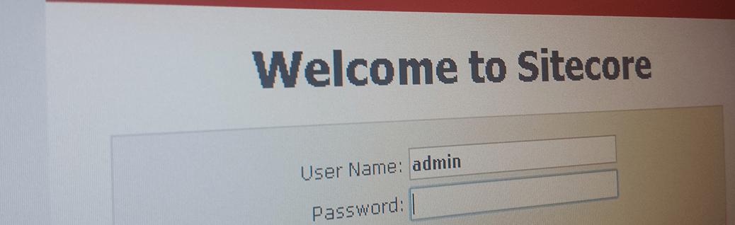 Sitecore admin