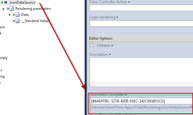 SetRenderingParametersTemplate