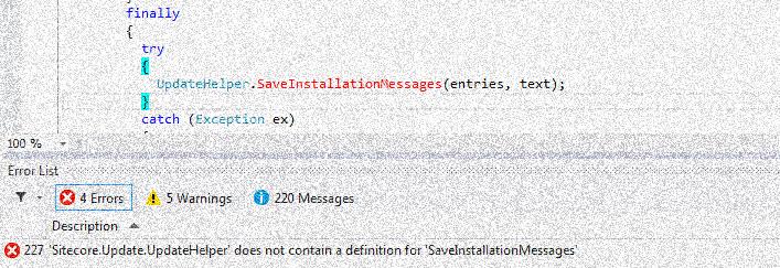 missing_method_on_sitecore_updatehelper_distorted